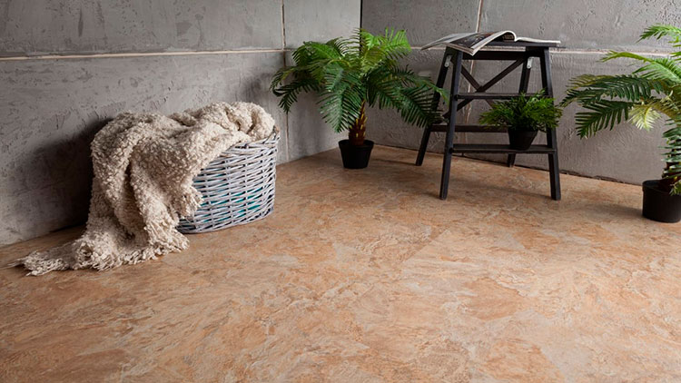 Виниловая плитка под камень