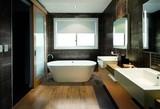 Ламинат для ванной комнаты - советы, как выбрать водостойкий ламинат на пол и инструкции по монтажу