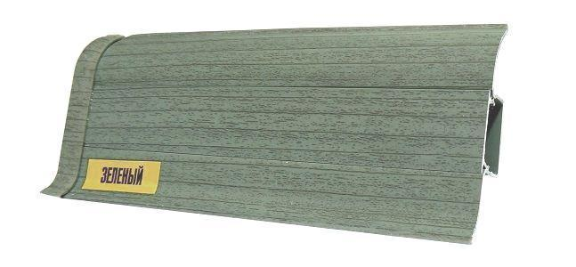 Напольный ПВХ плинтус Ideal comfort | Зеленый (027)