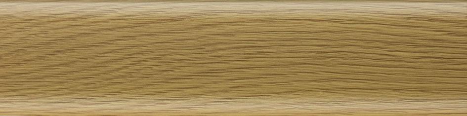 Напольный ПВХ плинтус Salag - NGF56 08   Дуб темный
