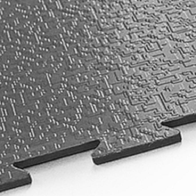 Модульное покрытие Sensor - Tech Черный   500x500x7 мм