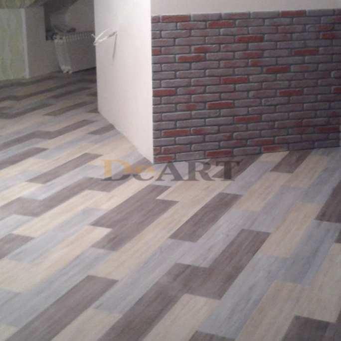 Виниловая плитка DeArt Floor - Strong Ольха Голубая Браш