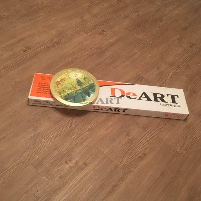 Виниловая плитка DeArt Floor - Strong Пепельная Сосна