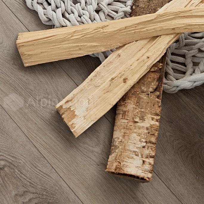 Виниловый ламинат Alpine Floor - Premium XL Дуб Грей Дождливый
