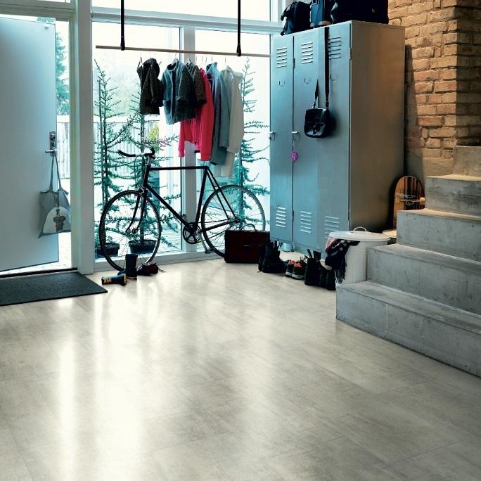 Виниловый пол Pergo - Optimum Click Tile Травертин светло-серый (V3120-40047)