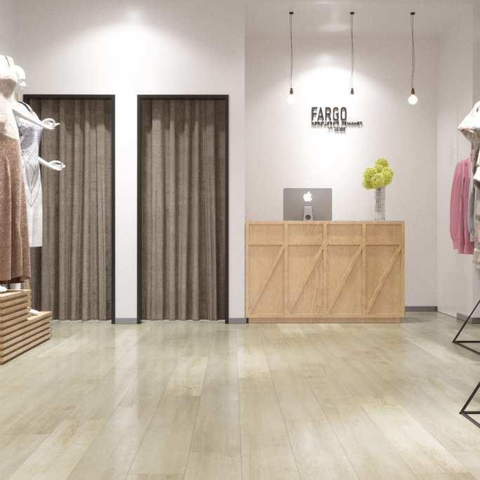 Виниловая плитка Decoria - Office Tile Дуб Ван