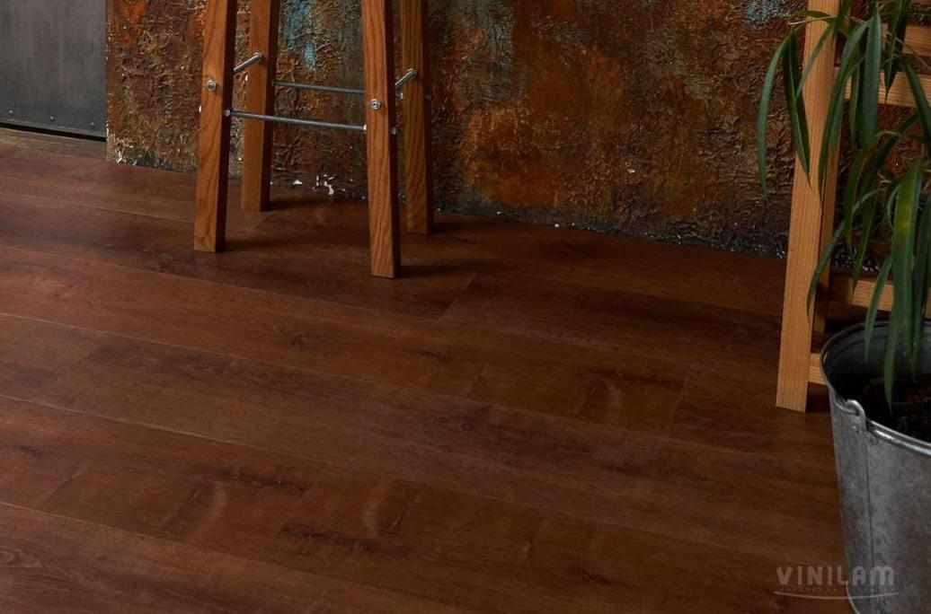 Виниловый ламинат Allure Floor - Isocore (7.5 мм) Дуб коричневый