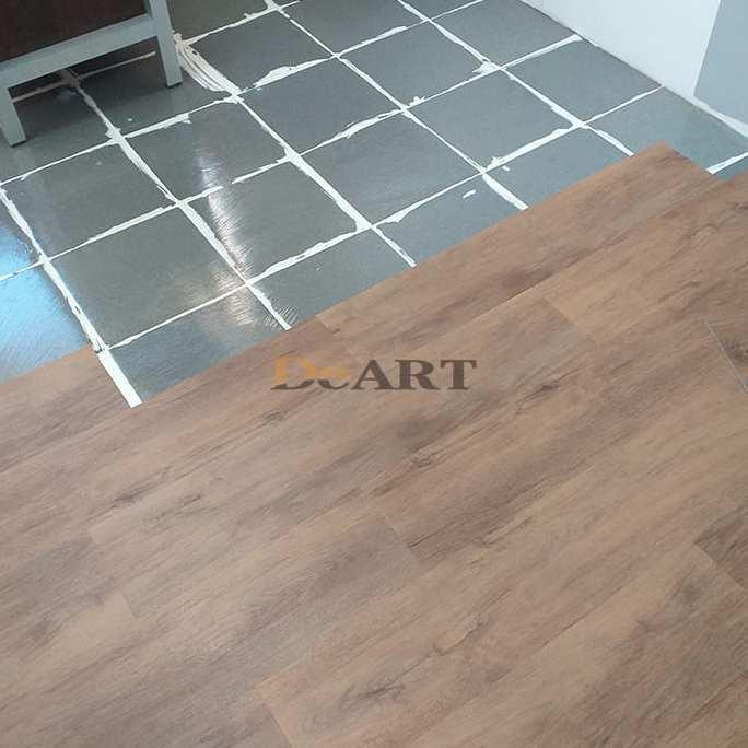 Виниловая плитка DeArt Floor - Strong Орех Модена