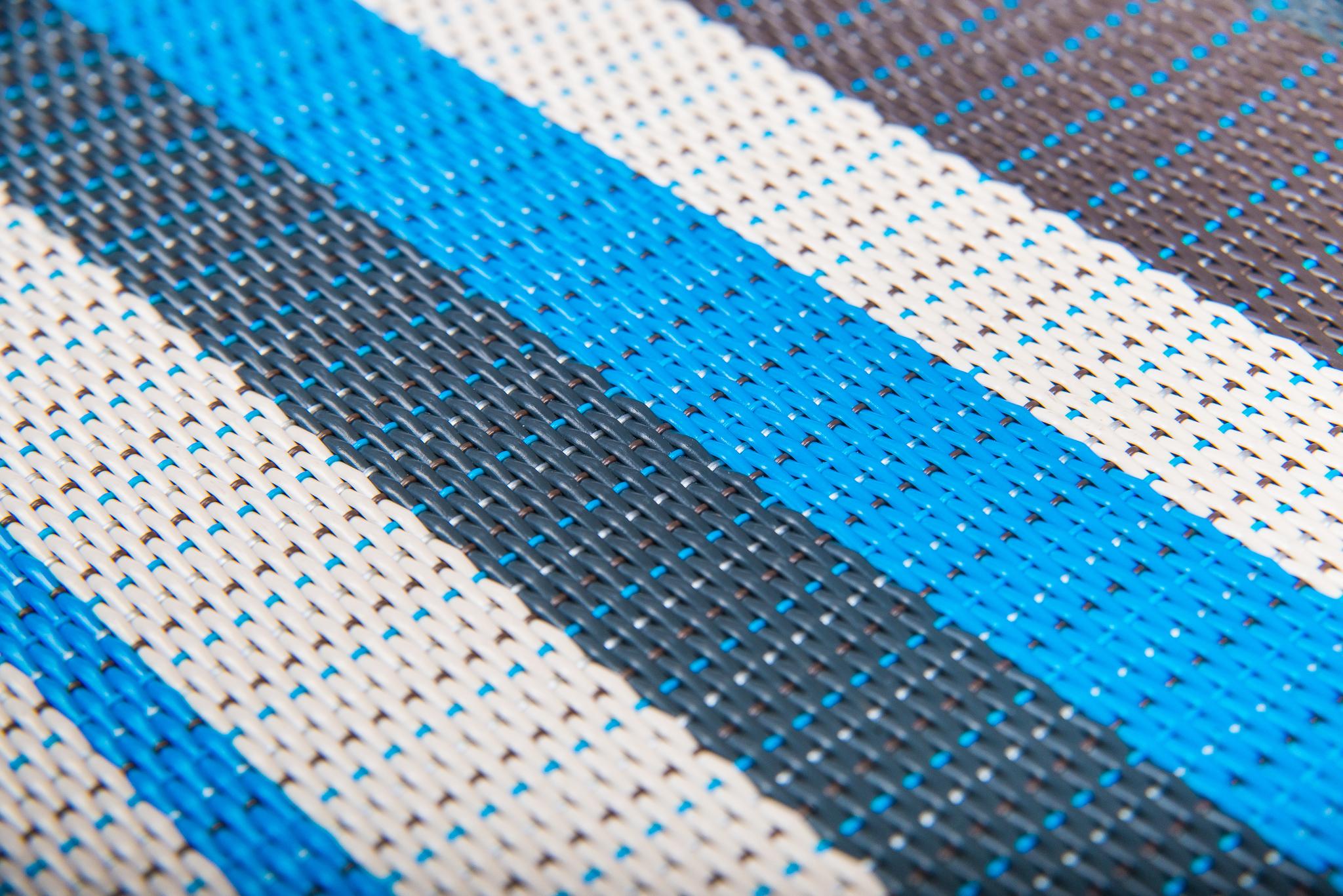Плетеный виниловый пол Hoffmann - Stripe (ECO - 11016 BS)