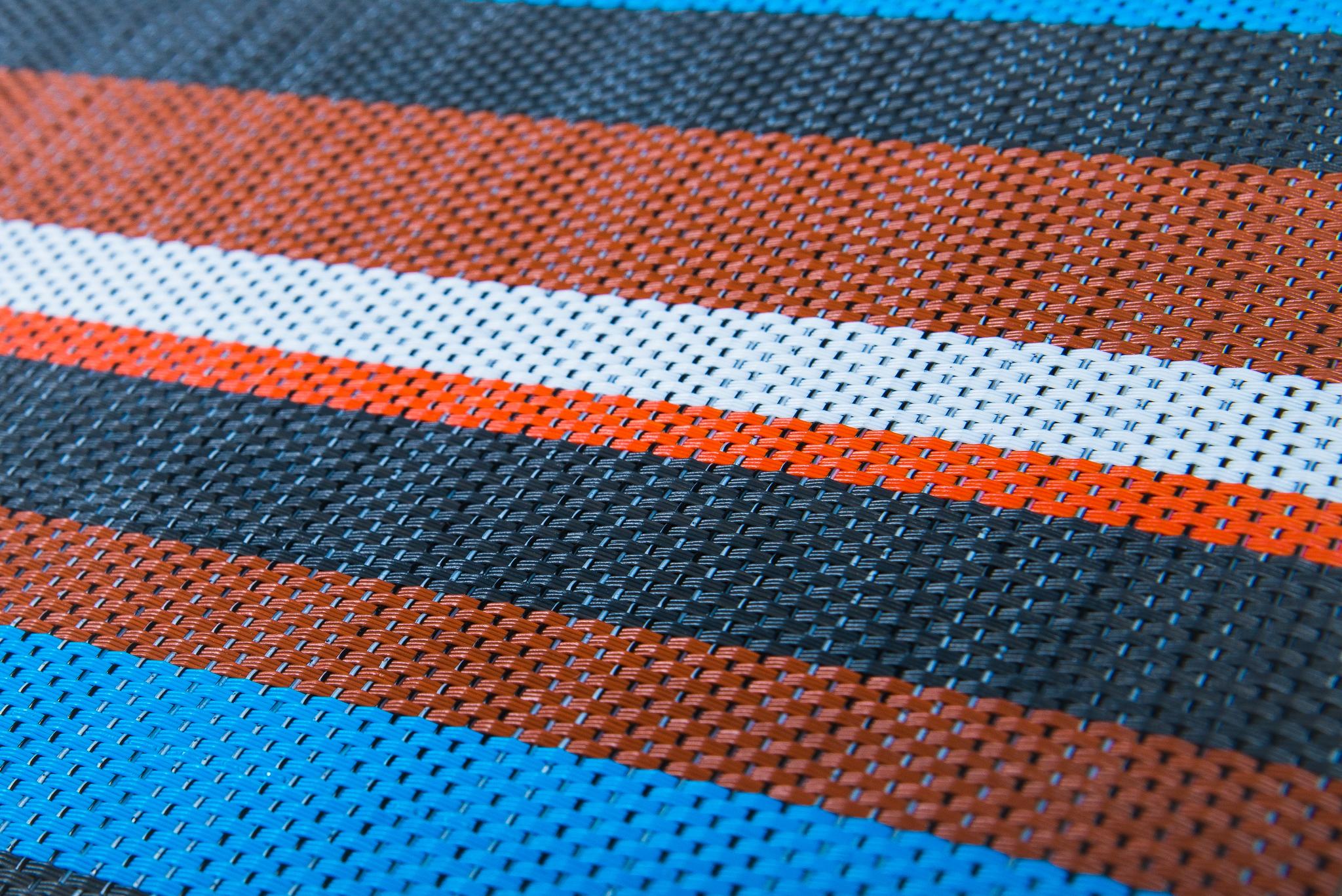 Плетеный виниловый пол Hoffmann - Stripe (ECO - 31001)