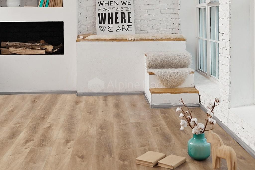 Виниловый ламинат Alpine Floor - Premium XL Дуб Природный Изысканный