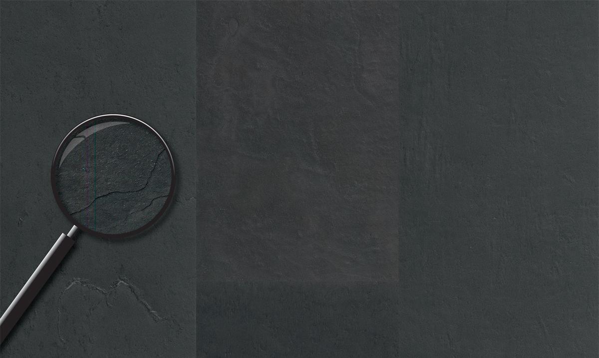 Виниловый ламинат Progress - Natural Stone Gleam Slate Black