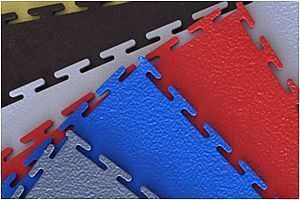 Модульное покрытие Sensor - Euro Синий | 500x500x7 мм