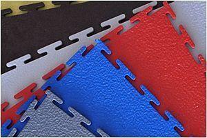 Модульное покрытие Sensor - Euro Красный | 500x500x7 мм
