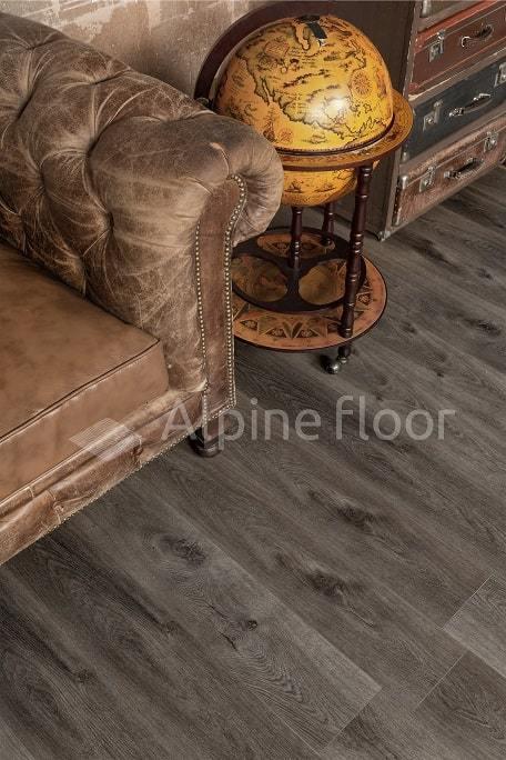 Виниловый ламинат Alpine Floor - Premium XL Дуб торфяной