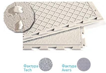 Модульное покрытие Sensor - Secret Синий   500x500x7 мм
