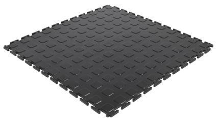 Модульное покрытие M-Tile - Jeton Красный | 500x500x7 мм