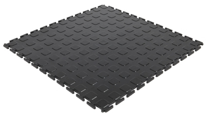 Модульное покрытие M-Tile - Jeton Желтый | 500x500x7 мм