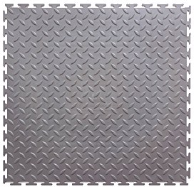 Модульное покрытие M-Tile - Hard Steel Желтый | 500x500x7 мм