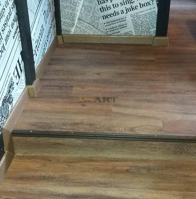 Виниловая плитка DeArt Floor - Lite Орех Пекан