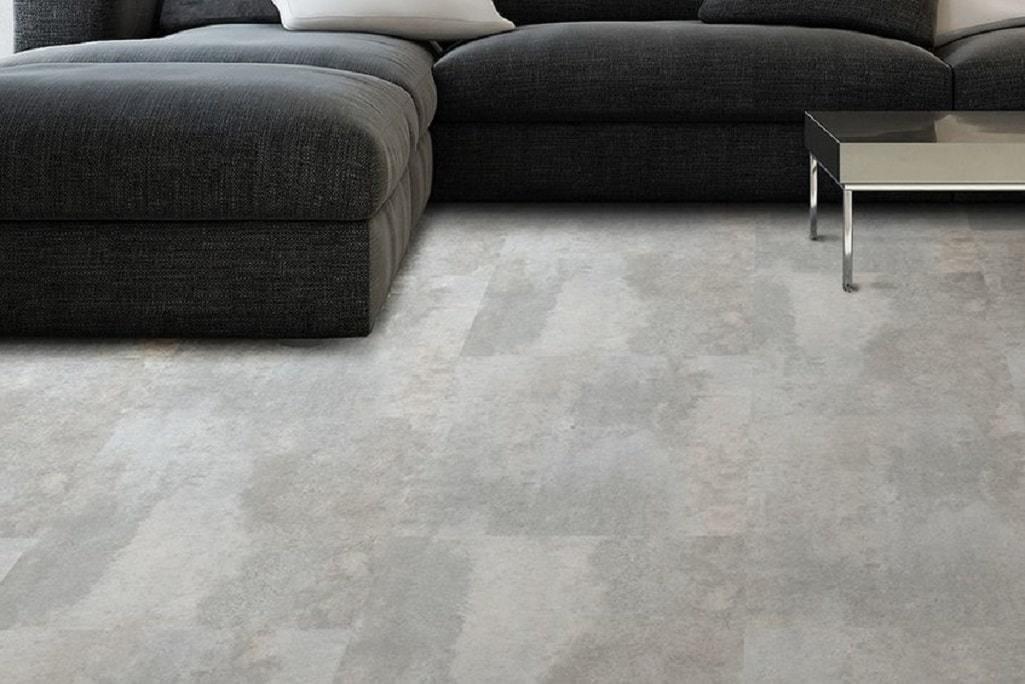 Виниловый ламинат Corkstyle - Vinyline Stone Plus Cement White