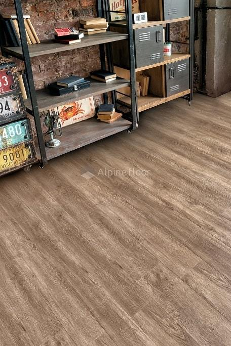 Виниловый ламинат Alpine Floor - Grand Sequoia Маслина