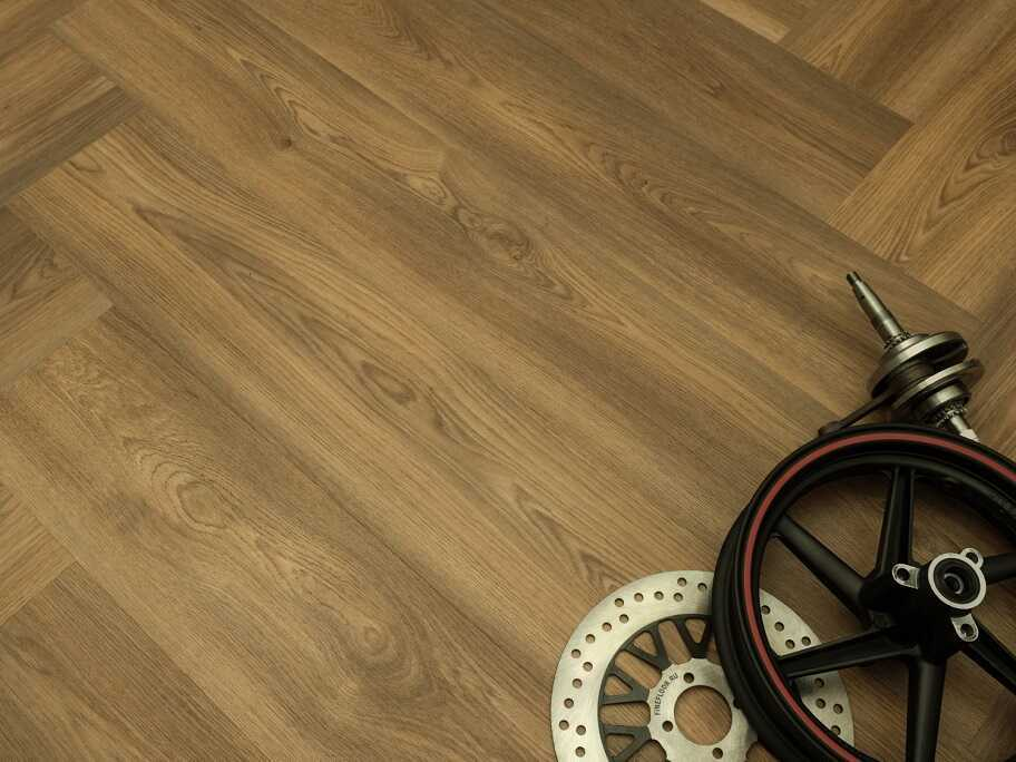 Виниловый ламинат Fine Floor - Gear Дуб Гудвуд (FF-1802)
