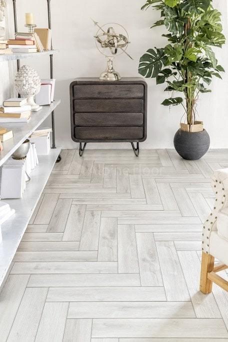 SPC ламинат Alpine Floor - Expressive Parquet Снежная лавина