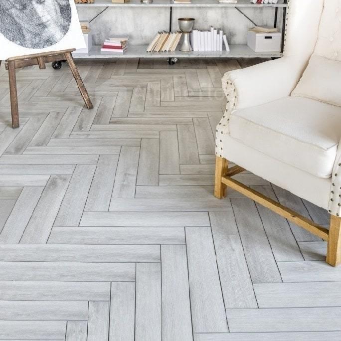 Виниловый ламинат Alpine Floor - Expressive Parquet Снежная лавина