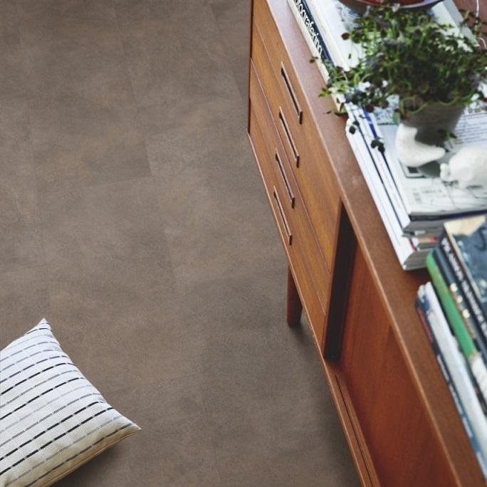 Виниловый пол Pergo - Optimum Click Tile Металл окисленный (V3120-40045)