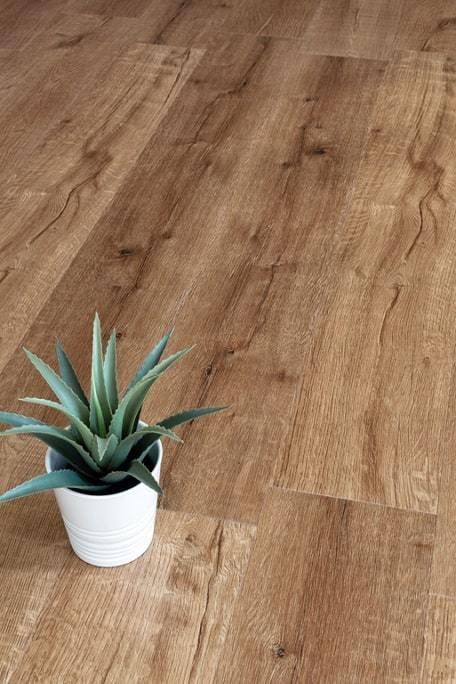 Каменно-полимерный ламинат (SPC) Alpine Floor - Real Wood Дуб Royal