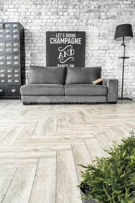 SPC ламинат Alpine Floor - Expressive Parquet Сумерки
