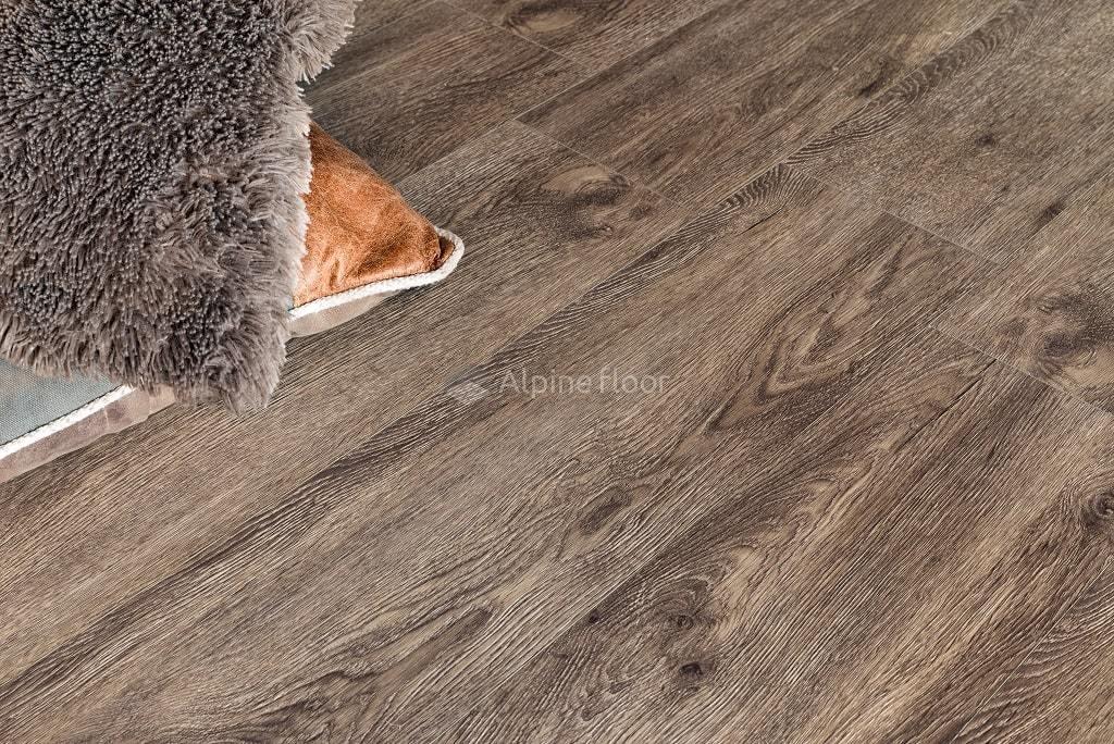 Виниловый ламинат Alpine Floor - Grand Sequoia Венге Грей
