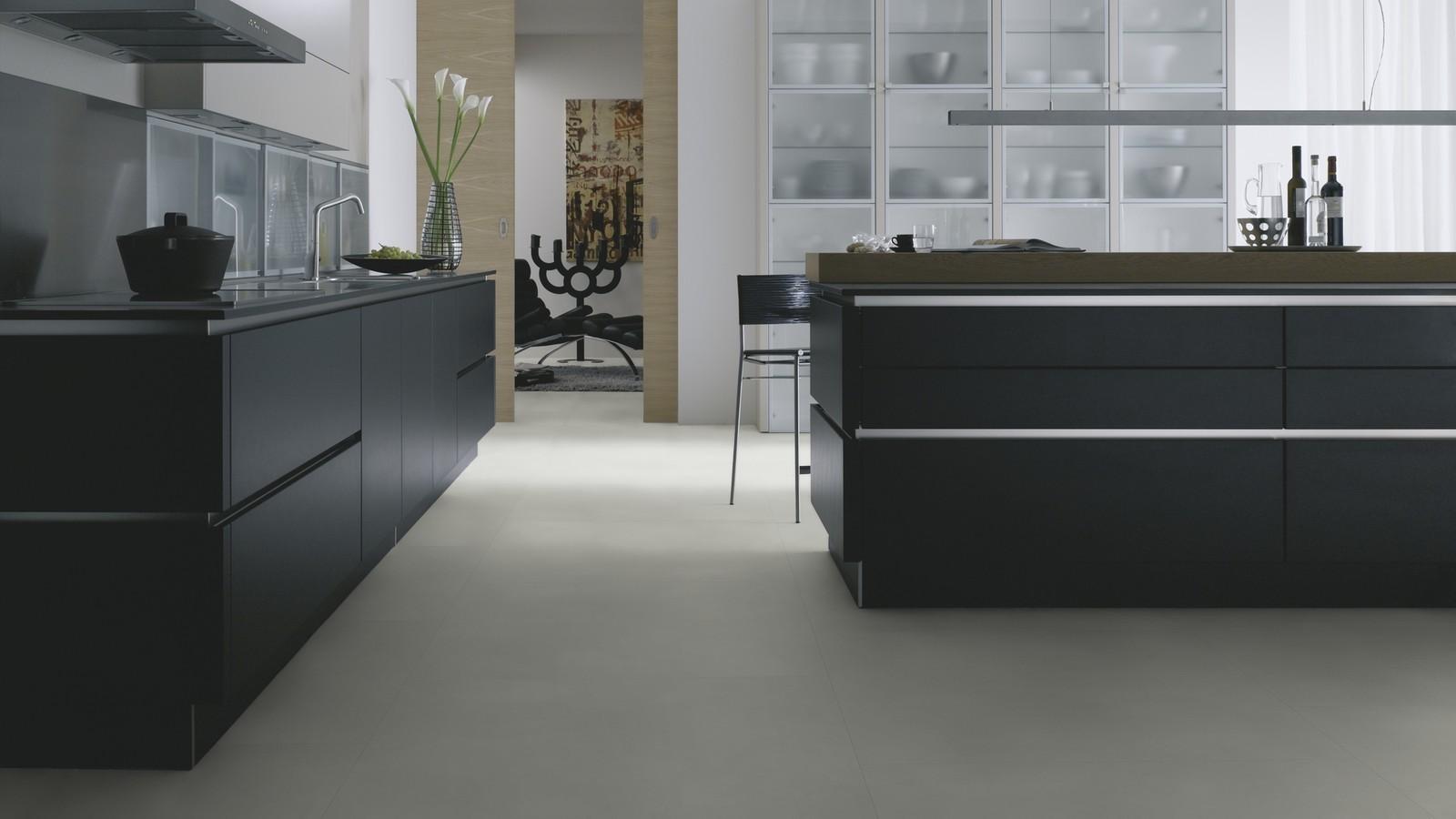 Виниловая плитка Wineo - 800 Tile Solid Grey (DB000097-3)