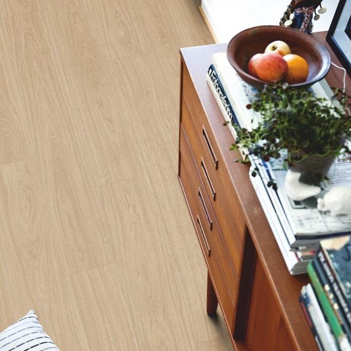 Виниловый пол Pergo - Optimum Click Plank Дуб светлый натуральный (V3107-40021)