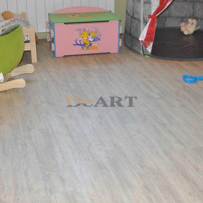 Виниловая плитка DeArt Floor - Strong Клён Светлый