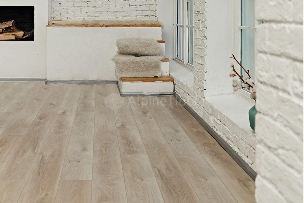 Виниловый ламинат Alpine Floor - Premium XL Дуб Натуральный Отбеленный