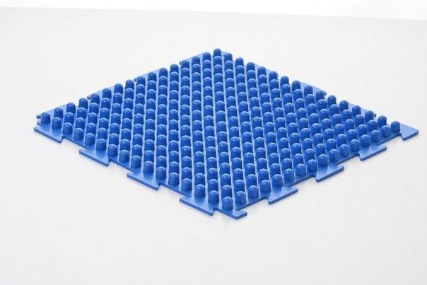 Ортопедический коврик Orto - Шипы синие