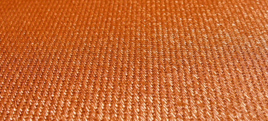 Плетеный ламинат Bolon - Now Tangerine