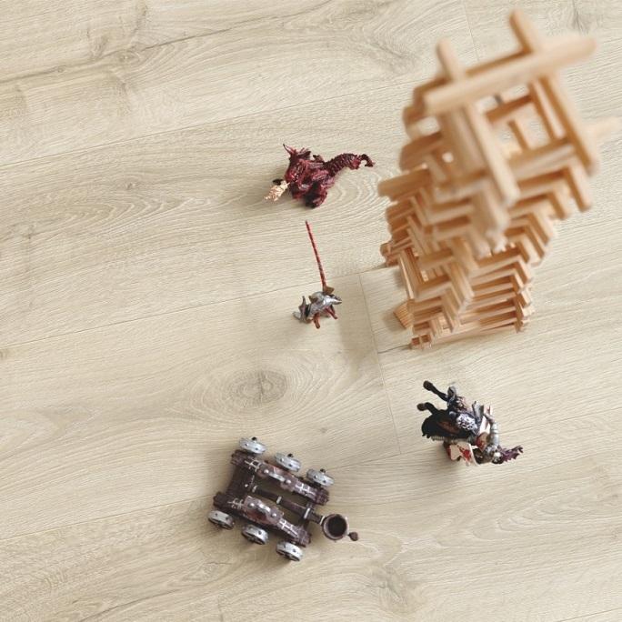 Виниловый пол Pergo - Optimum Click Plank Дуб Горный Бежевый (V3107-40161)