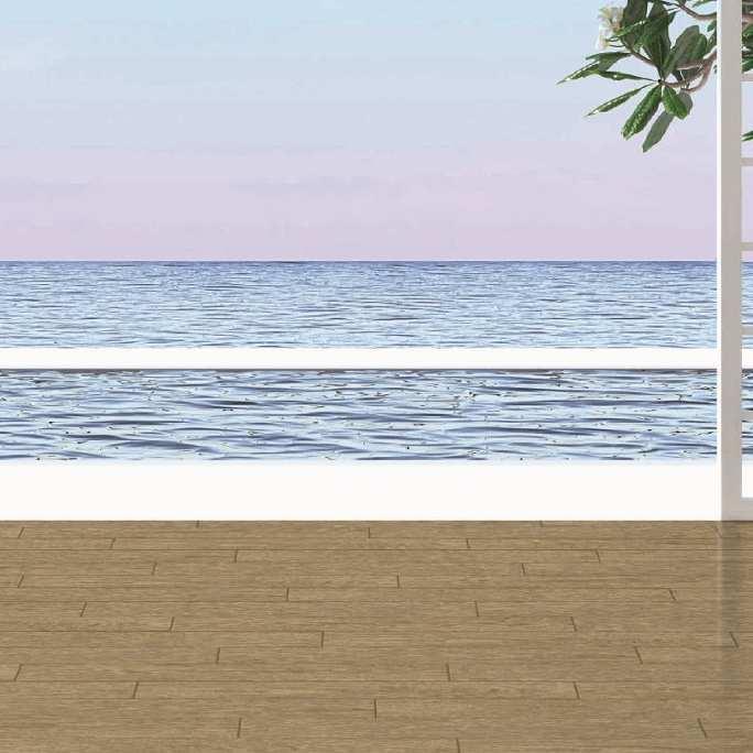 Виниловая плитка Decoria - Office Tile Дуб Бафа