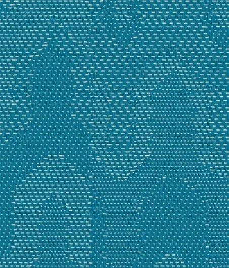 Рулонный ПВХ пол Bolon - Missoni Оптический бирюзовый