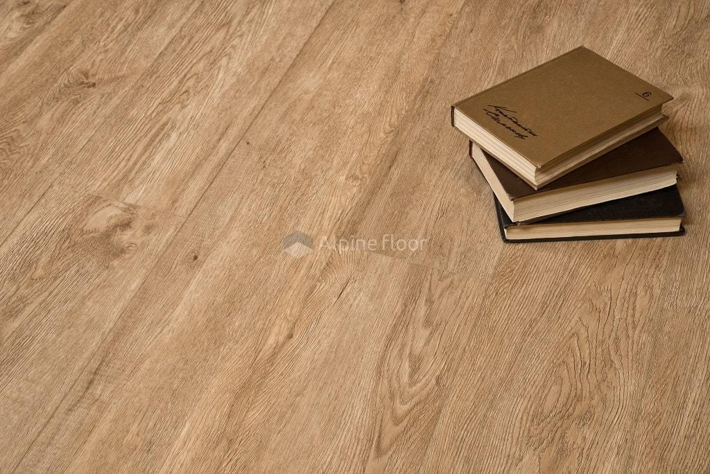 Каменно-полимерный ламинат (SPC) ламинат Alpine Floor - Grand Sequoia Миндаль