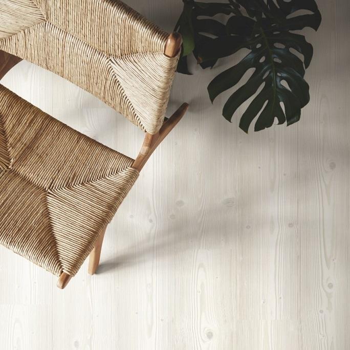 Виниловый пол Pergo - Optimum Click Morden Plank Сосна скандинавская белая (V3131-40072)